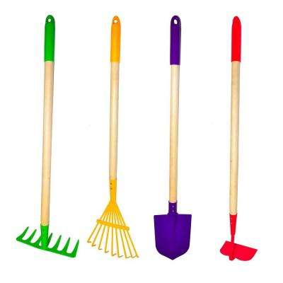 Big Kids Garden Tool Set (4-Piece)