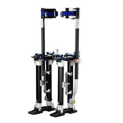 24 in. to 40 in. Adjustable Height Black Drywall Stilts
