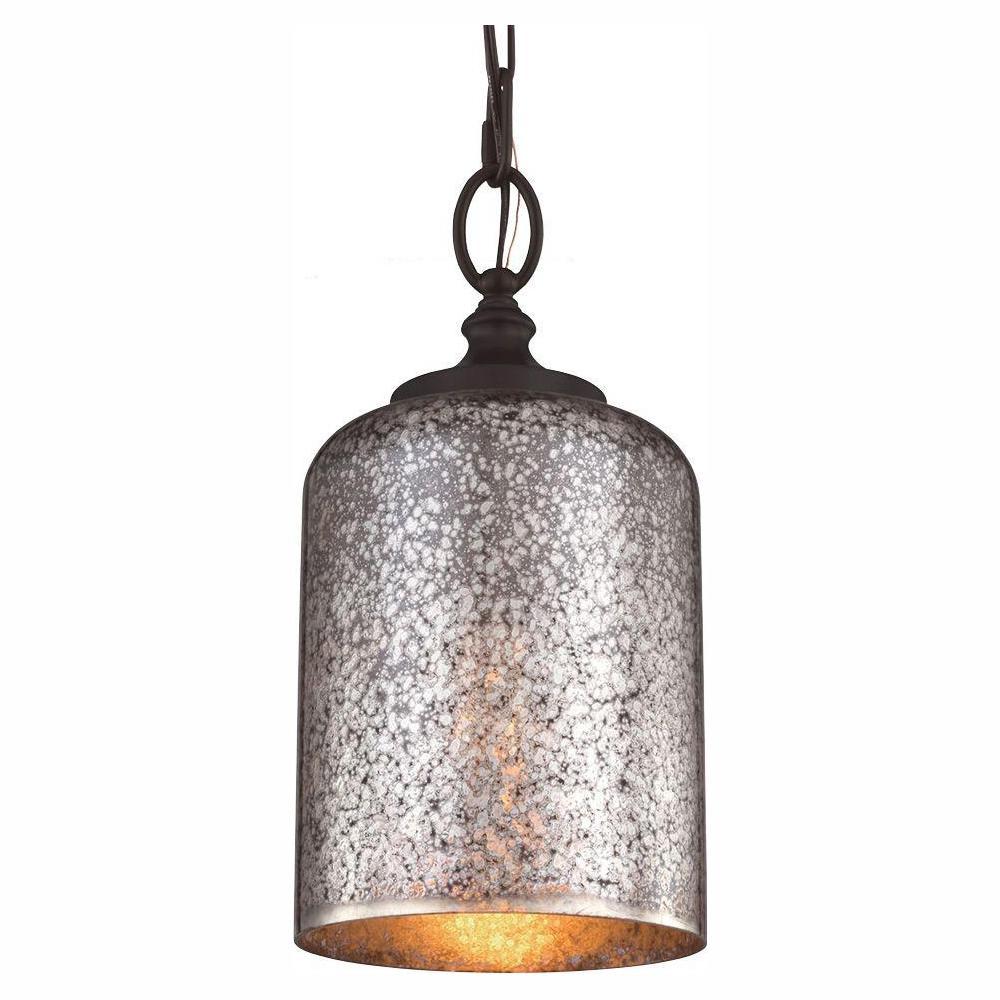 Hounslow 1-Light Oil Rubbed Bronze Mini Pendant