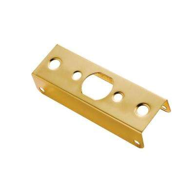 1-3/8 in. Thickness Solid Brass Door Edge Guard
