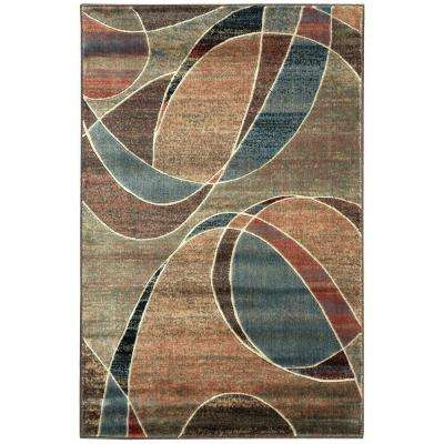Expressions Multi 3 ft. 6 in. x 5 ft. 6 in. Area Rug