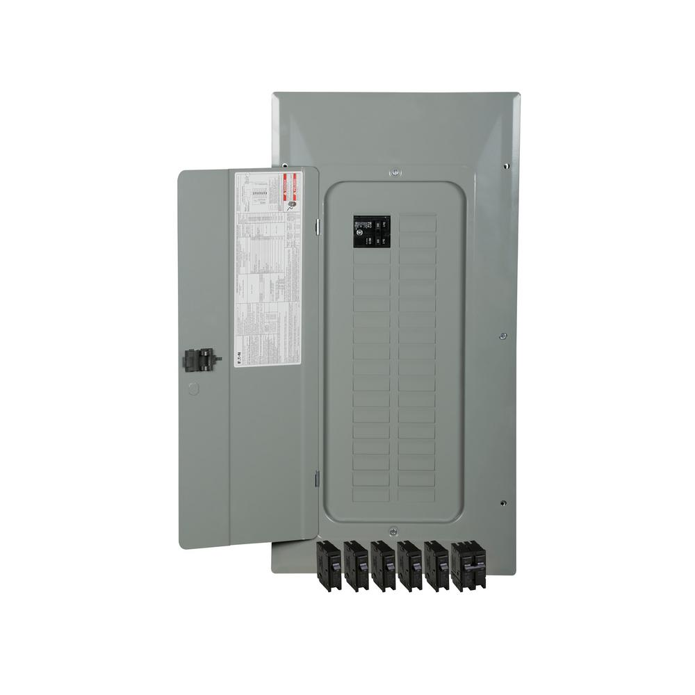 Circuit Breaker Box Cover Decorative Decorative Electrical: Square D Homeline 200 Amp 42-Space 84-Circuit Indoor Main
