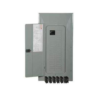 BR 100 Amp 30-Space 30-Circuit Indoor Main Breaker Loadcenter with Cover Value Pack (5-BR120, 1-BR230)