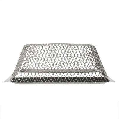 VentGuard 16 in. x 16 in. Roof Wildlife Exclusion Screen in Stainless Steel