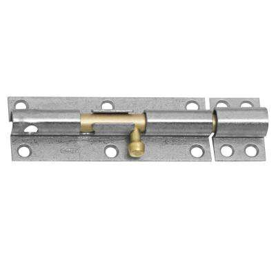 6 in. Brass Galvanized Bolt with Screws