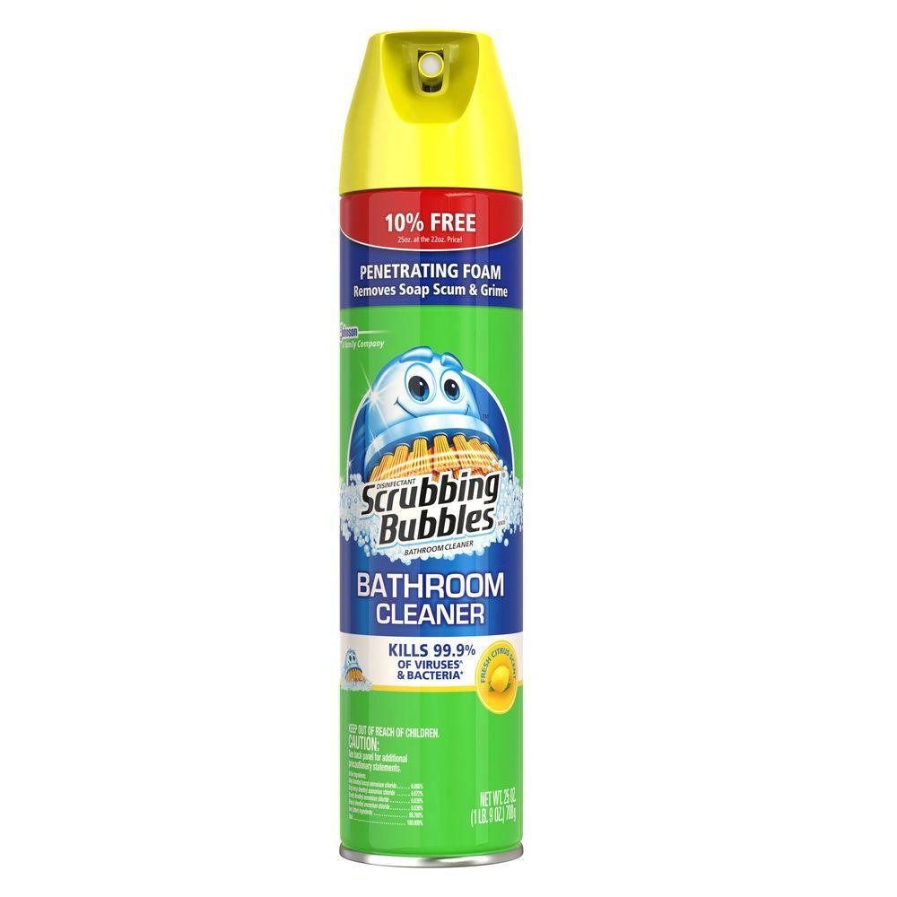 Citrus Scent, Bonus Size Antibacterial Bathroom Cleaner
