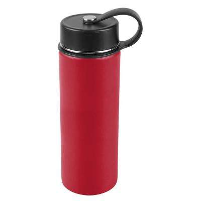 30 oz. Tomato Red Vacuum Insulated Stainless Steel Water Bottle (2-Pack)