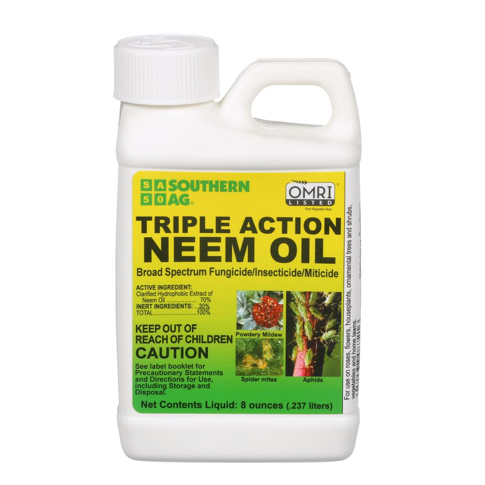 Southern Ag 8 Oz Triple Action Neem Oil 100048933 The