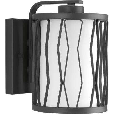 Wemberly Collection 1-Light Graphite Wall Sconce