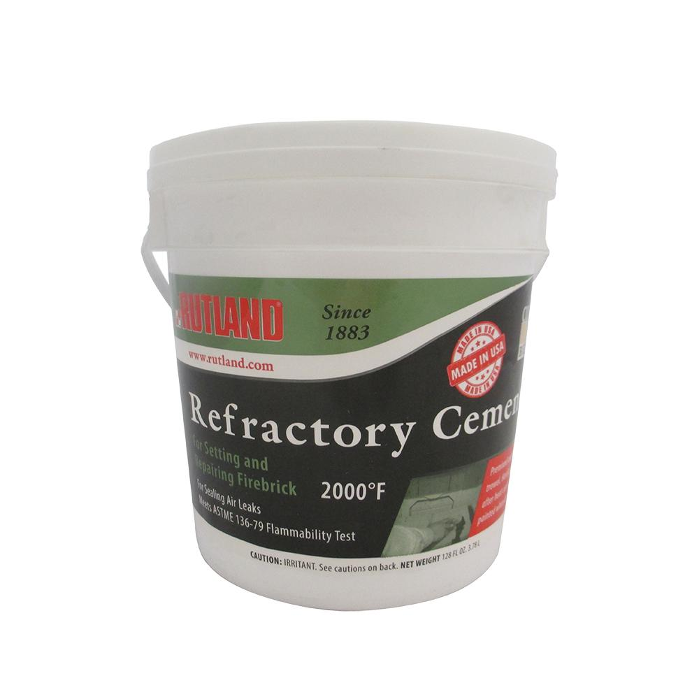 Repair chipped or cracked masonry with confidence using Rutland Refractory Cement. Rated to up to 2000°F