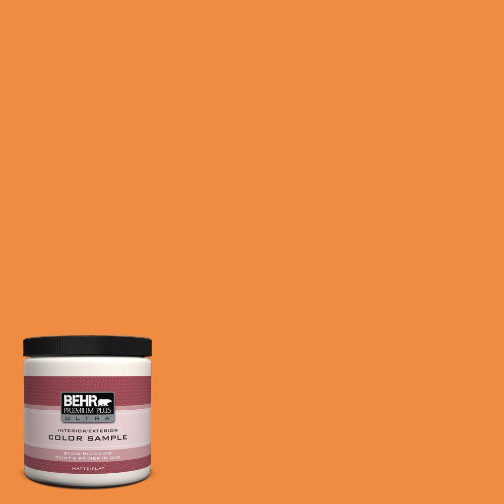 BEHR Premium Plus Ultra 8 oz. #260B-7 Bird Of Paradise Interior/Exterior Paint Sample