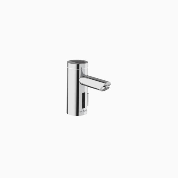 Optima Solar-Powered Deck-Mounted Single Hole Touchless Bathroom Faucet in Polished Chrome