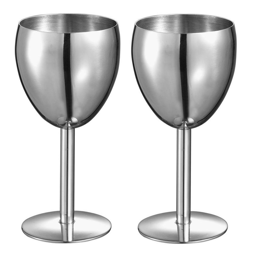 Antoinette Stainless Steel Wine Glass