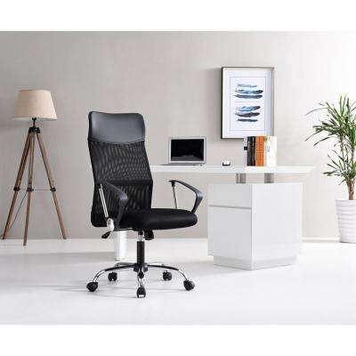 Black Mesh High Back Executive Office Chair