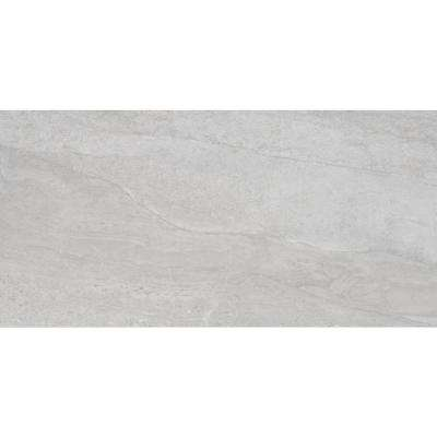 Himalayan Gray 12 in. x 24 in. Glazed Porcelain Floor and Wall Tile (12 sq. ft. / case)