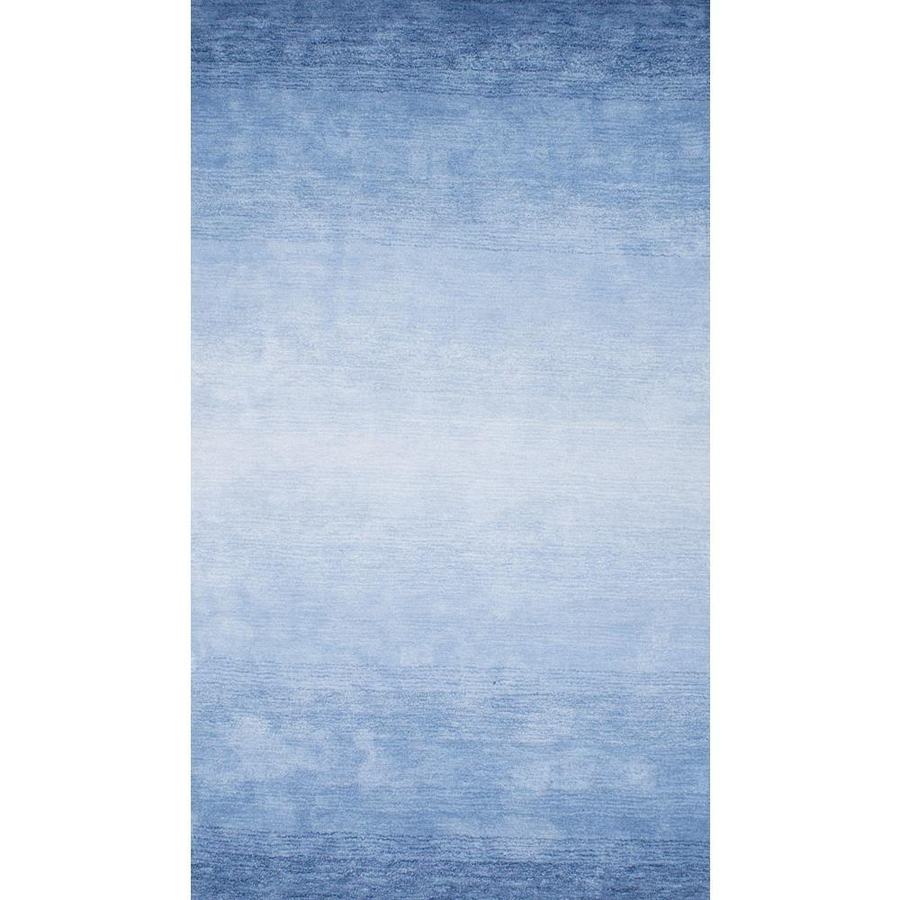 Nuloom Ombre Bernetta Blue 5 Ft X 8 Area Rug