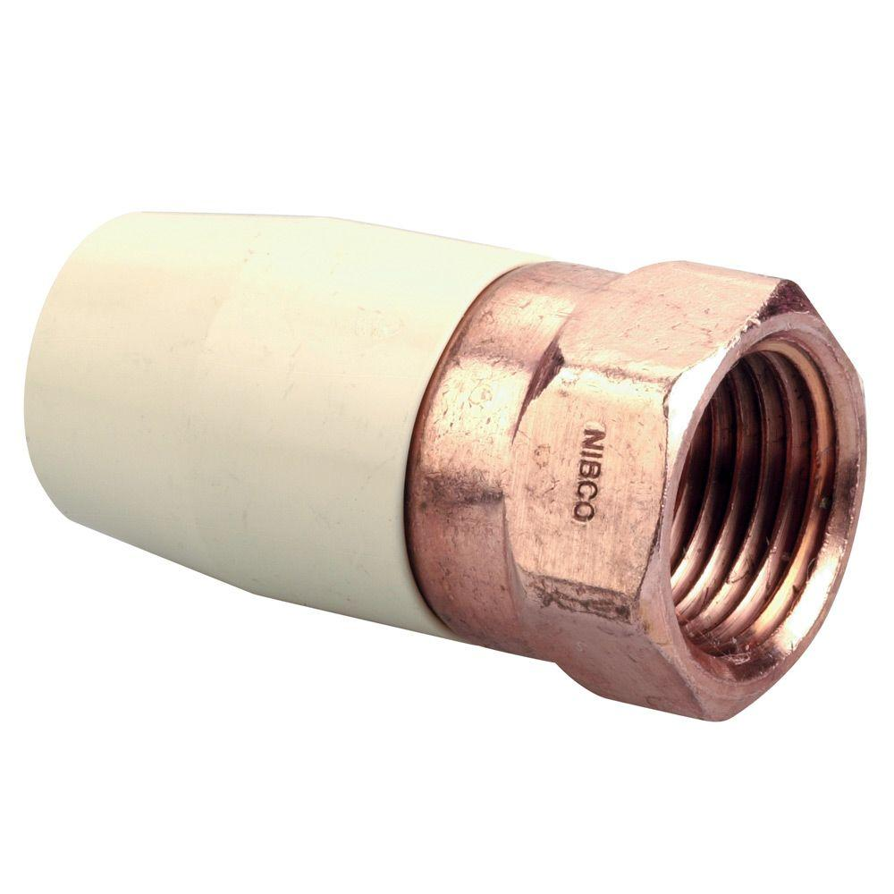 Nibco in cpvc cts female transition adapter c ct