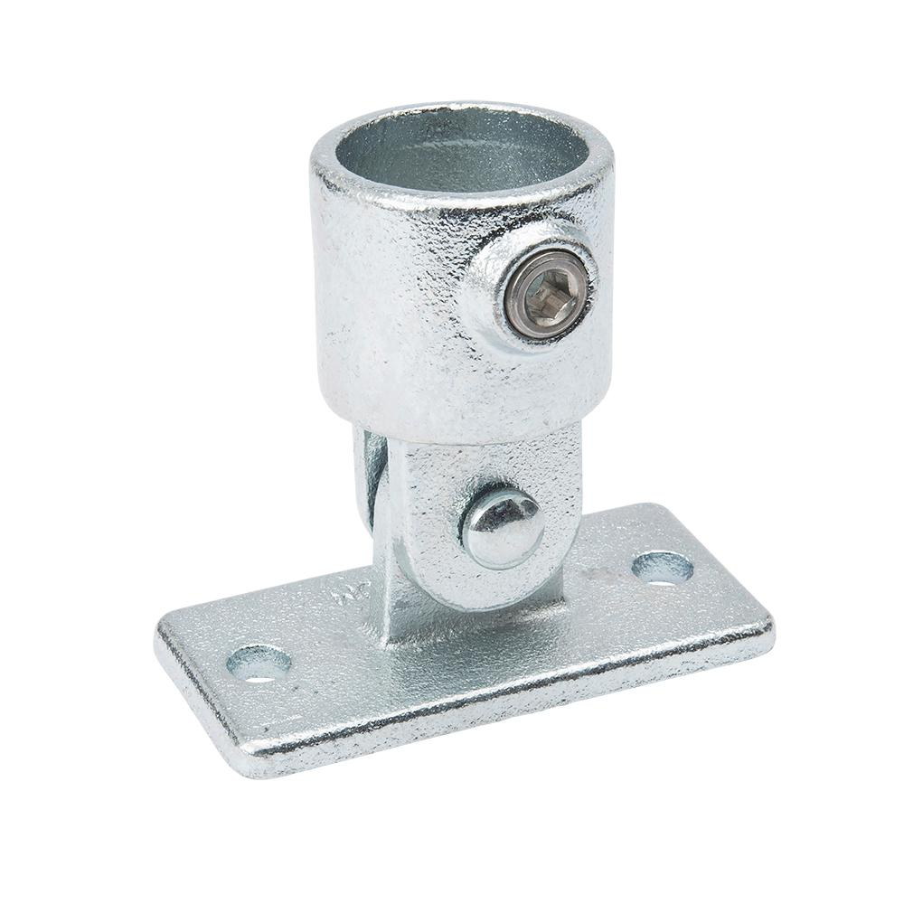 1 1 4 In Galvanized Structural Steel Swivel Base 2 Pack