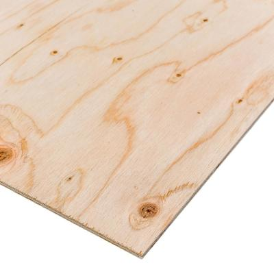 X 8 Ft Bc Sanded Pine Plywood 235552