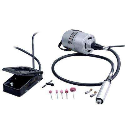 1/4 HP Corded Combo Flexible Shaft Grinder/Carver Kit