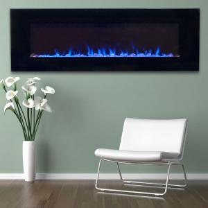Northwest 54 In Led Fire And Ice Electric Fireplace With