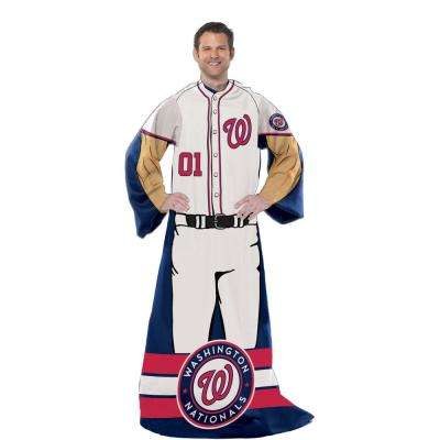 Nationals Multi Color Polyester Comfy Throw
