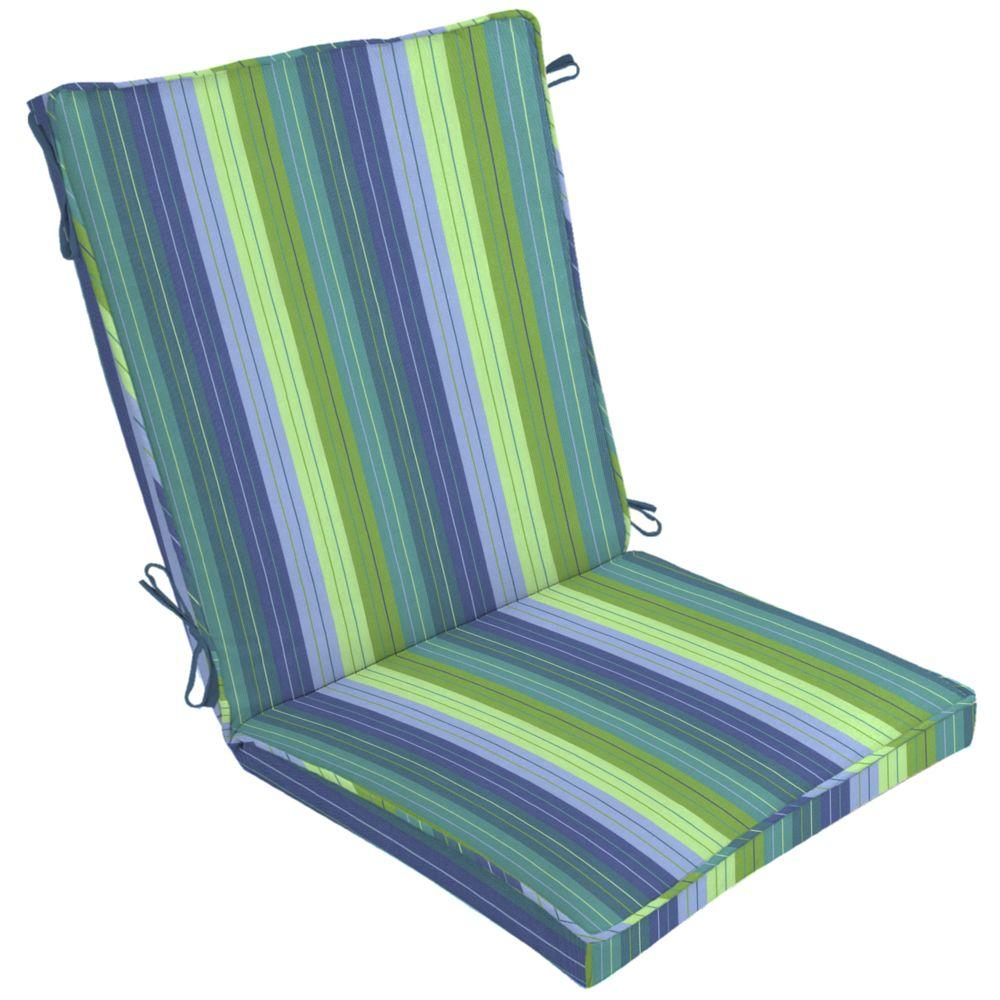 Arden Seaside Seville Single Welt Outdoor Chair Cushion-DISCONTINUED