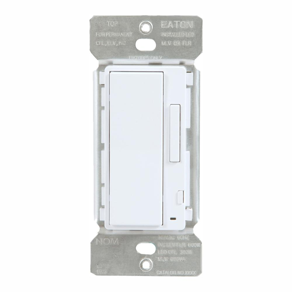 Halo White In-Wall Smart Dimmer for use with non-smart lights by HALO on