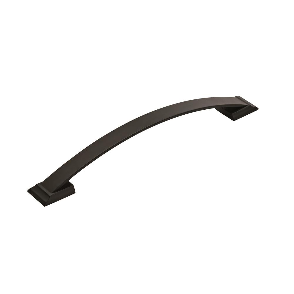 Amerock Candler 8 in. (203 mm) Center-to-Center Black Bronze Appliance Drawer Pull