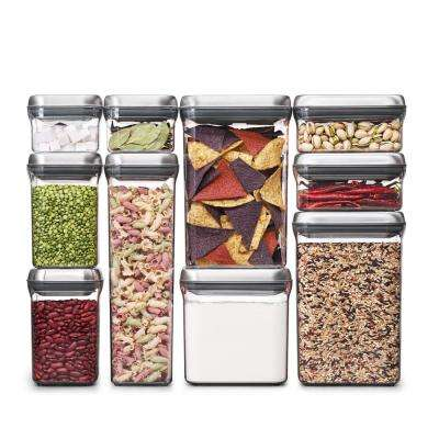 10-Piece Steel POP Container Set