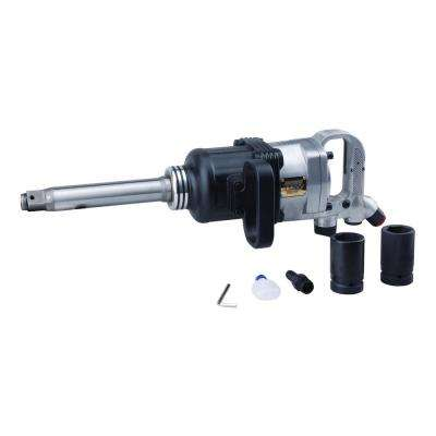 1 in. Pinless Hammer Industrial Impact Wrench 1,900 ft./lbs. Torque with 8 in. Anvil