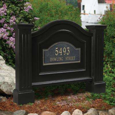 Nantucket 32 in. x 40 in. Address Sign