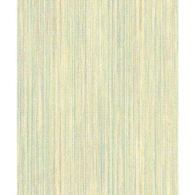 Audrey Pastel Stripe Texture Wallpaper Sample