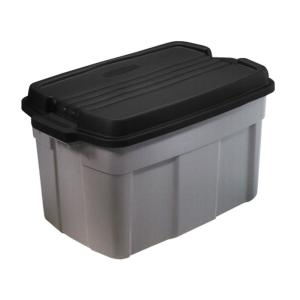 Storage Tote In Gray (3 Pack)