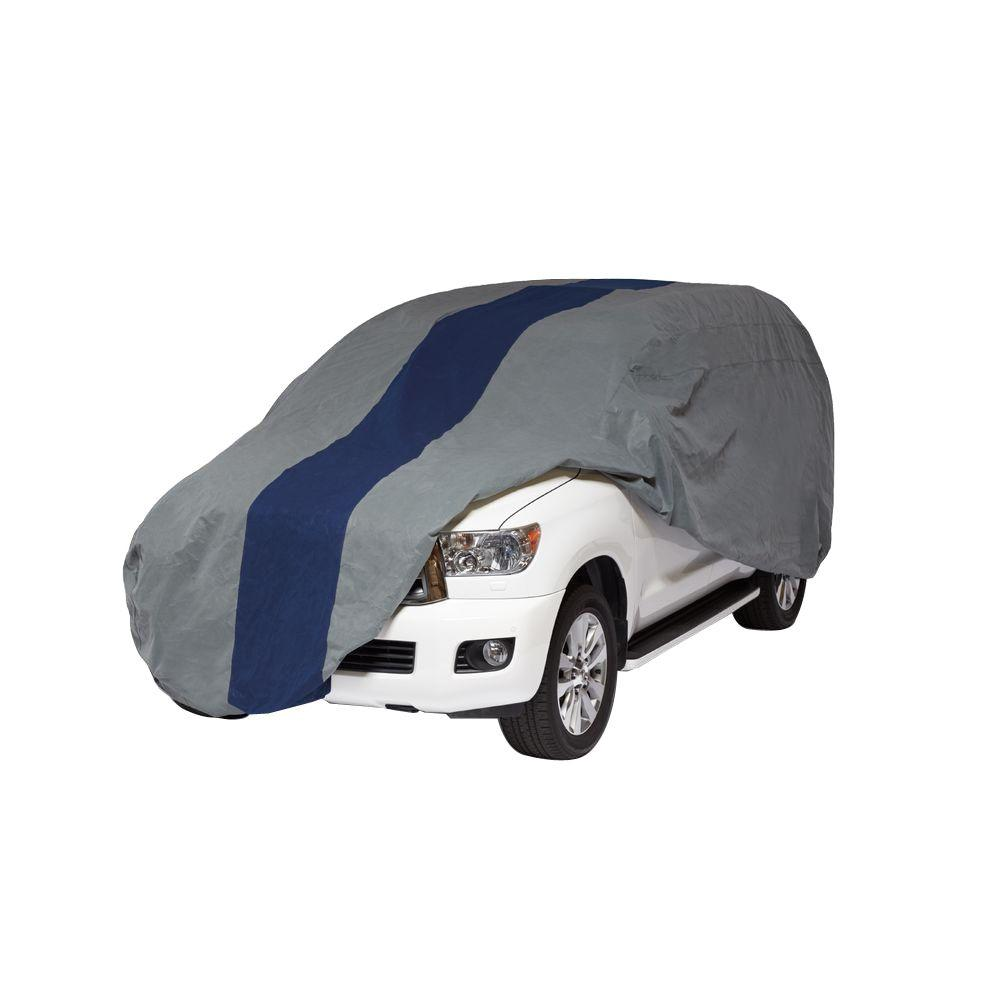 Double Defender SUV or Pickup with Shell/Bed Cap Semi-Custom Cover Fits