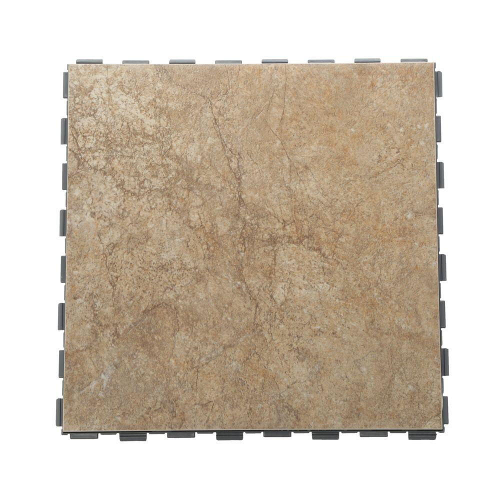 SnapStone Paxton In X In Porcelain Floor Tile Sq Ft - Easiest floor tile to install
