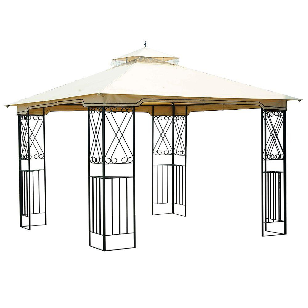 Marshall ...  sc 1 st  The Home Depot & Patio Gazebo/Canopy - The Home Depot
