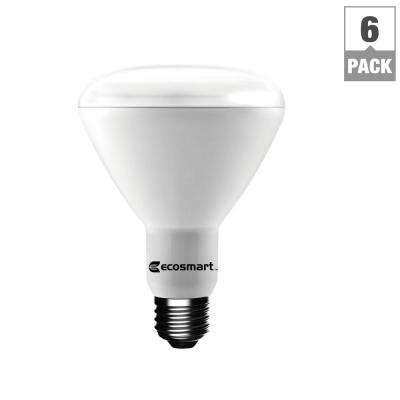 65W Equivalent BR30 Dimmable LED Light Bulb, Daylight (6-Pack)