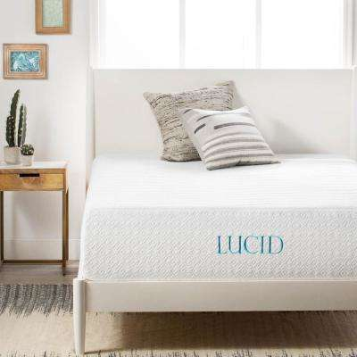 14 in. King Plush Ventilated Bamboo Charcoal Mattress