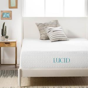 14 in. Queen Plush Ventilated Bamboo Charcoal Mattress