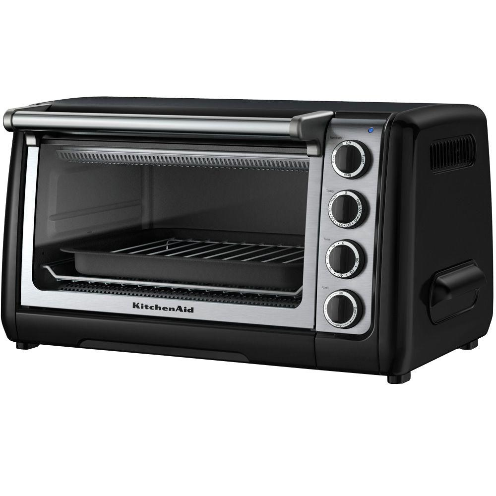 KitchenAid 10 in. Countertop Oven in Onyx Black