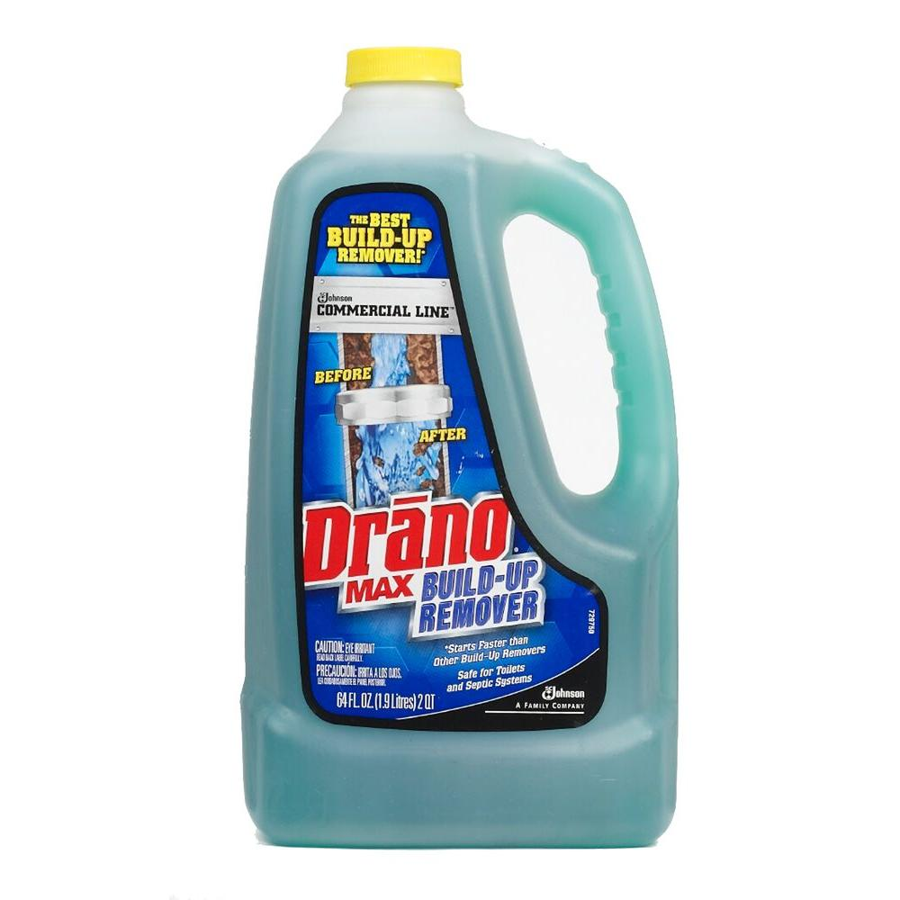 Drano 64 oz. Max Commercial Line Drain Build-up Remover (4-Pack ...