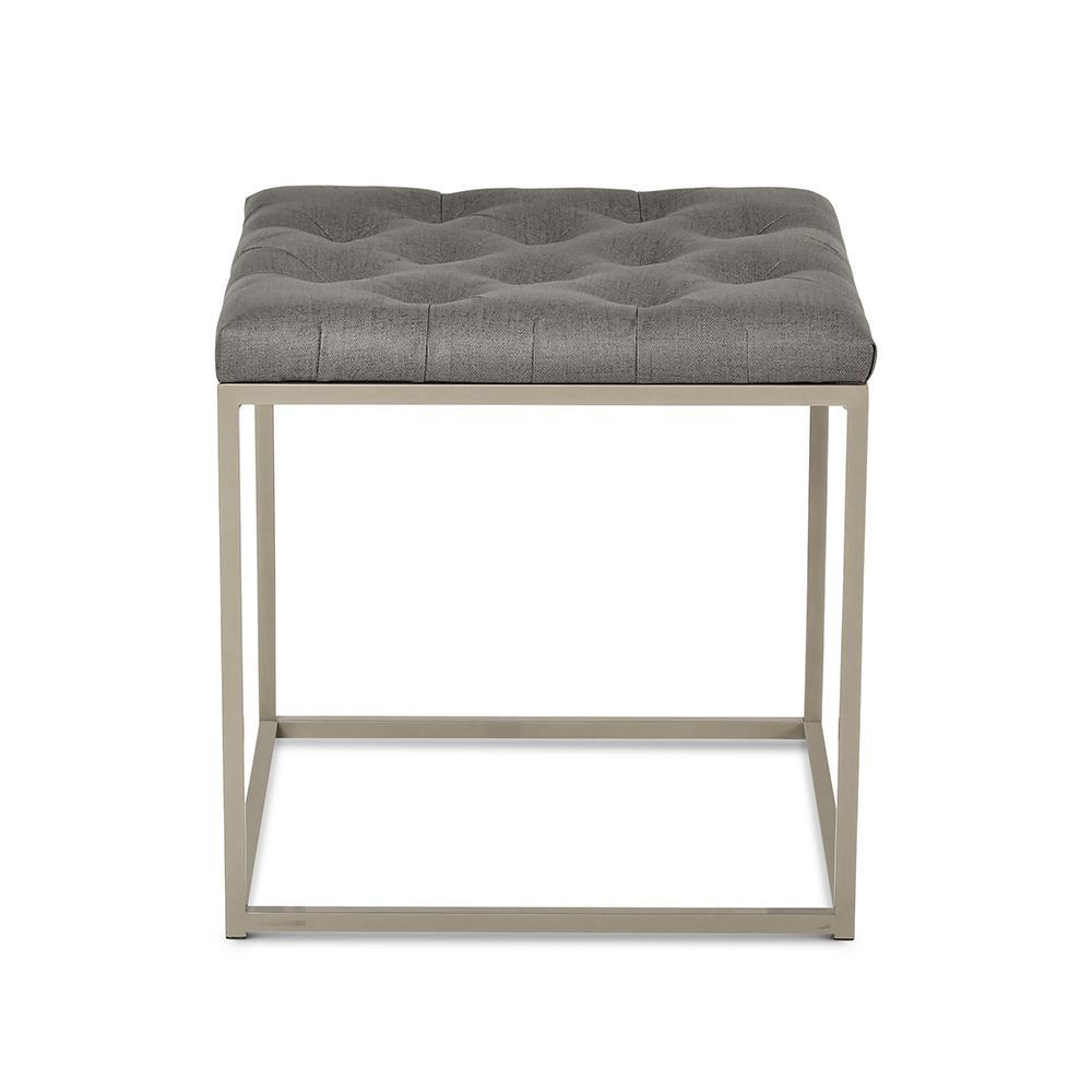 Glenda Upholstered End Table
