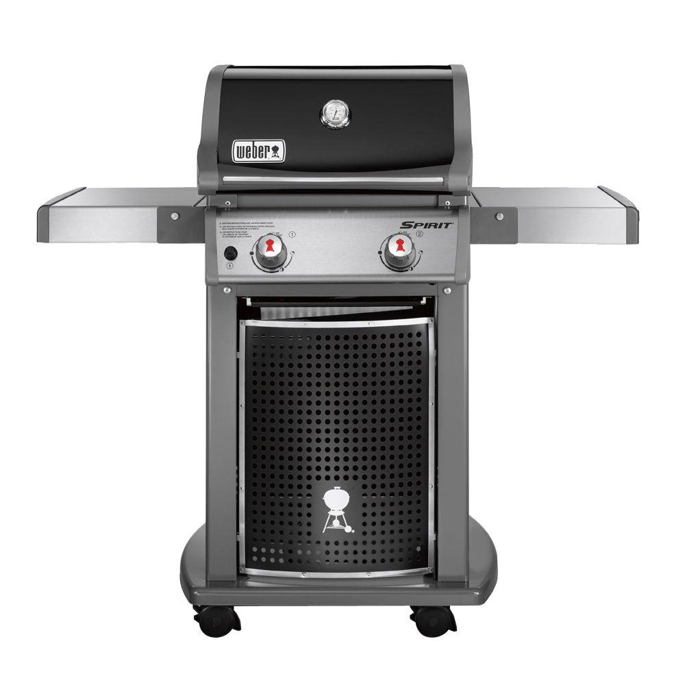 Weber Spirit E-210 2-Burner Propane Gas Grill (Featuring the Gourmet BBQ System)