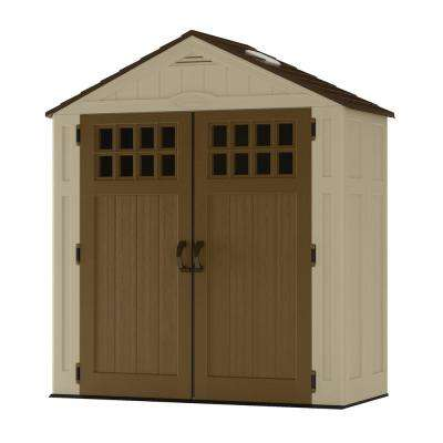 Everett 2 ft. 9 in. x 6 ft. 2.75 in. Resin Storage Shed