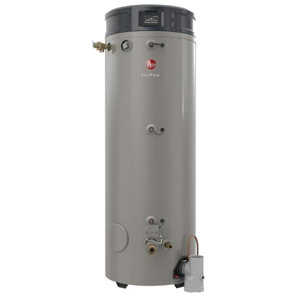 Rheem Commercial Triton Heavy Duty High Efficiency 100 Gal 400k Btu Liquid Propane Asme Power Direct Vent Tank Water Heater Ghe100su 400a Lp The Home Depot