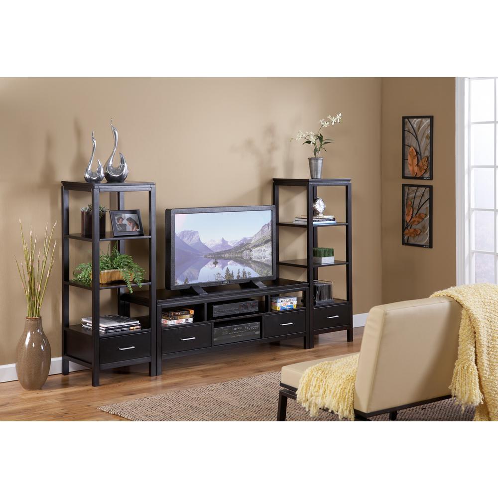 Home Decorators Collection Sutton Black Entertainment ...