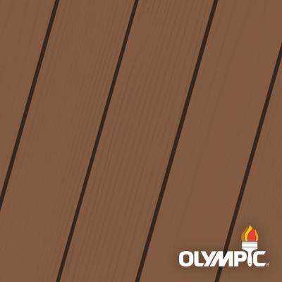 Elite 8 oz. Canyon Sunset Semi-Transparent Advanced Exterior Wood Stain Sample