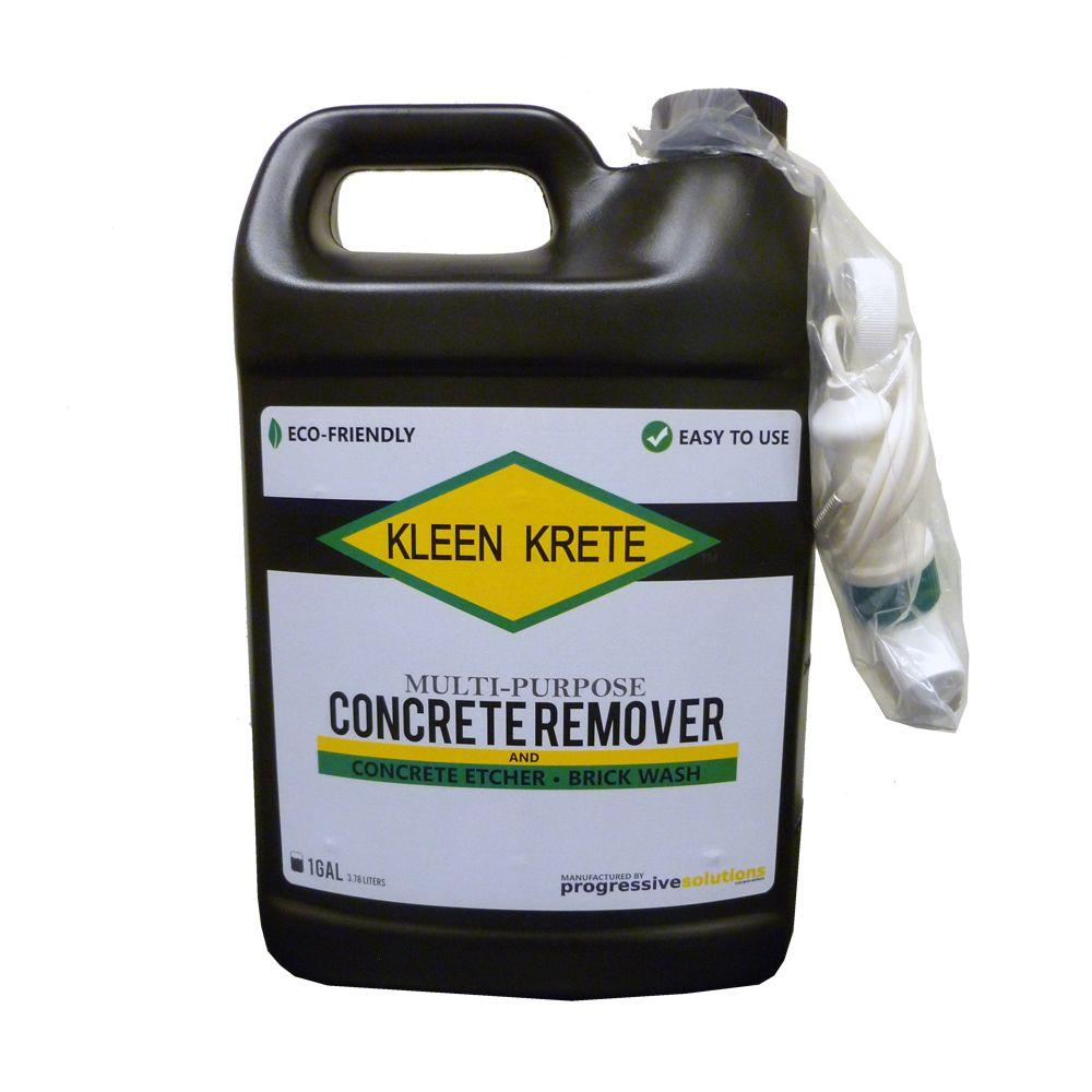 1 Gal. Multipurpose Concrete Remover, Dissolver and Brick Wash Bottle