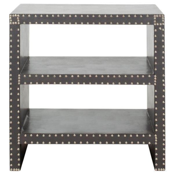 Safavieh Lacey Grey Side Table FOX9502A